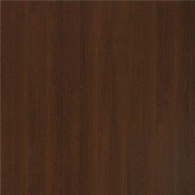 Melamin Tischplatte Nussbaum dunkelbraun, 80x80 cm, Stärke: 2,2 cm-Gastro-Germany