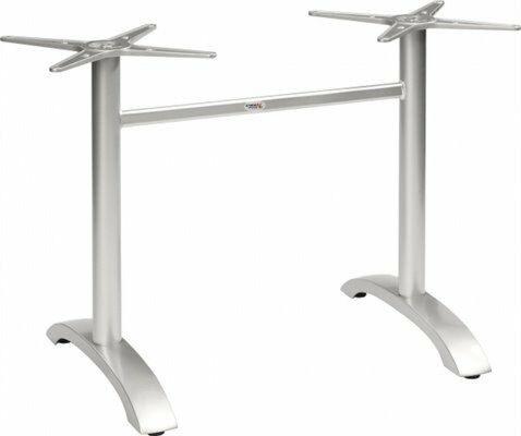 Tischgestell Nina-Double für Platten bis 120x80 cm