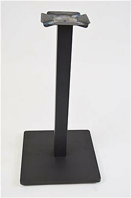 ONESSO Tischgestell PAYA, Boden flach, für Platten bis 70x70cm-Gastro-Germany