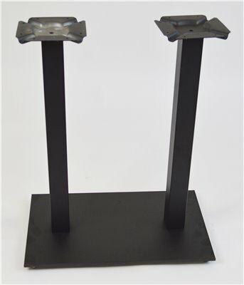 ONESSO Tischgestell PAYA Twin, Fuß flach, für Platten bis 120 x70cm-Gastro-Germany