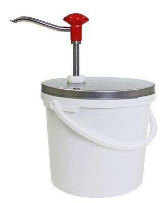 Schneider Profi Saucendispenser Dosierspender  Druckknopf 10 Liter-Gastro-Germany