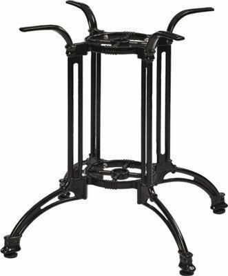 Tischgestell Oslo 44 für Platten bis 90x90 cm