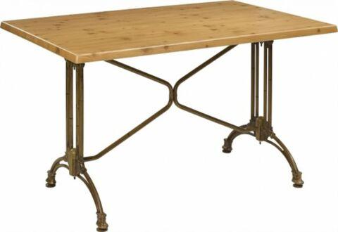 Tischgestell Oslo-Double für Platten bis 120x80 cm