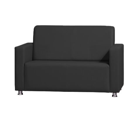 VILLA Sofa 2 Sitzer Schwarz-Gastro-Germany