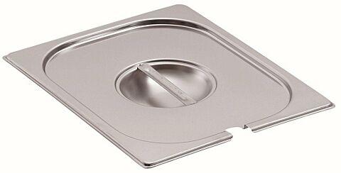 Deckel 1/1GN, mit Löffelaussparung, 530x325x20mm-Gastro-Germany