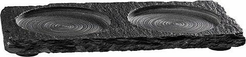 Naturschieferplatte, 15 x 8 cm-Gastro-Germany