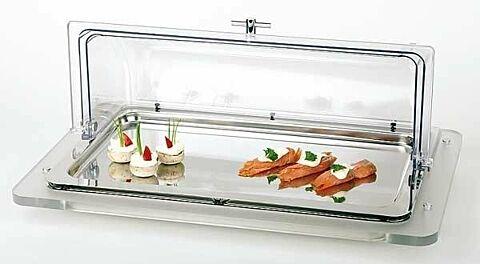 Büfett-Vitrine Top Fresh, 61 x 38 cm, Höhe 8 cm-Gastro-Germany