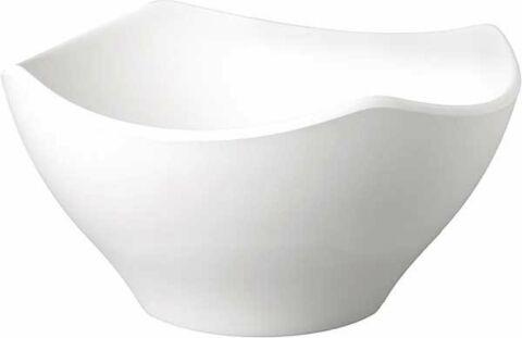 Schale, 1,4 Liter ZEN weiß 21 x 21 cm, H: 11 cm-Gastro-Germany
