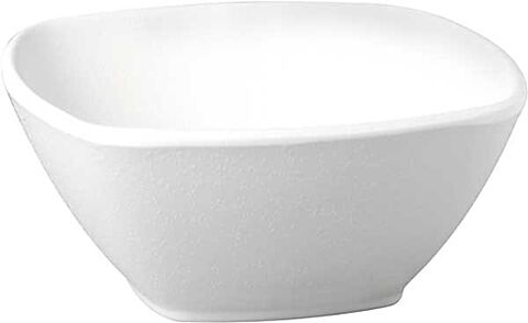 Schale, 0,5 Liter ZEN weiß 17,5 x 17,5 cm, H: 7 cm-Gastro-Germany