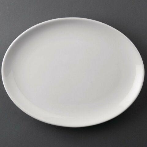 Athena Hotelware ovale Coupteller 25,4cm (12 Stück)-Gastro-Germany