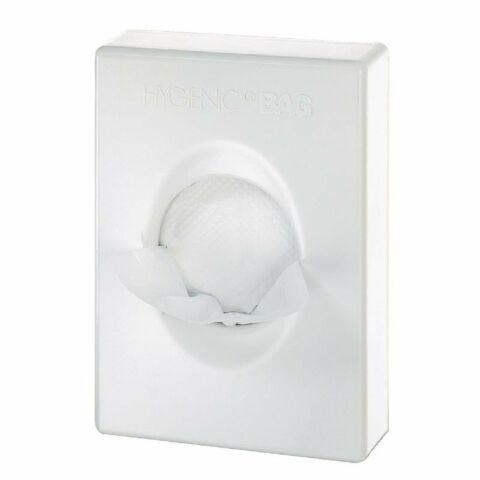 Spender für Hygienebeutel weiß, 9,8 x 2,5 x 13,6 cm-Gastro-Germany