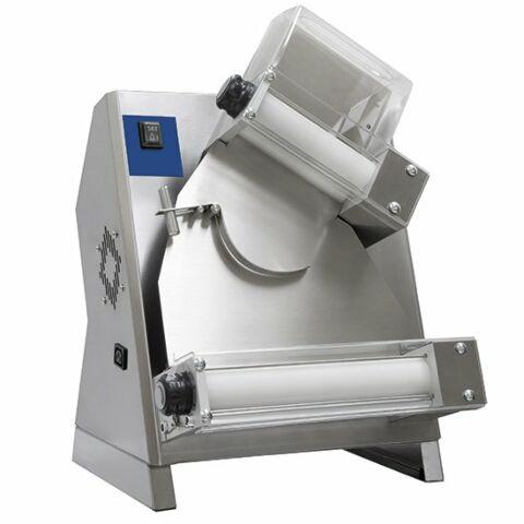 Teigausrollmaschine mit 2 Rollen für Pizzen ø 26-40 cm