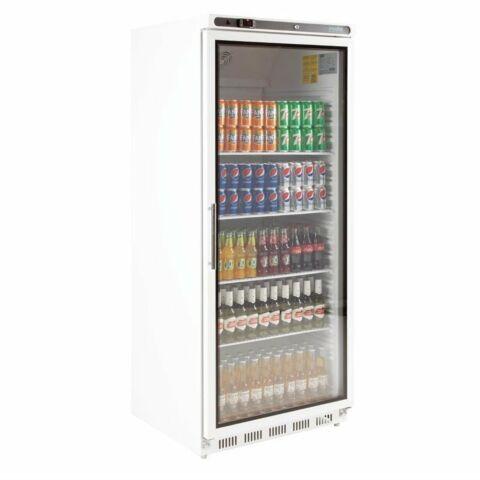 POLAR Glastür Display Flaschenkühlschrank, 600L