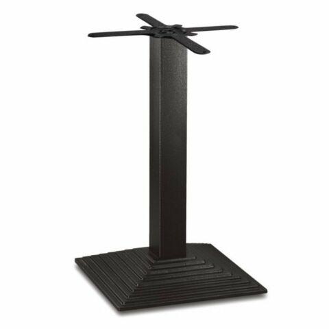 Tischgestell PRIMERO viereckig mit Stufen Gusseisen 72cm hoch-Gastro-Germany