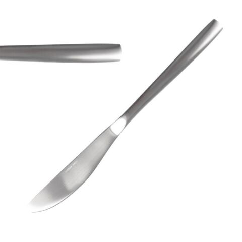 Comas Satin Menümesser, 22,1cm  (12 Stück)-Gastro-Germany