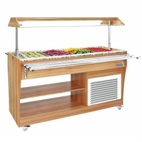 POLAR Salat Buffet-Theke für 4 GN 1/1-Gastro-Germany