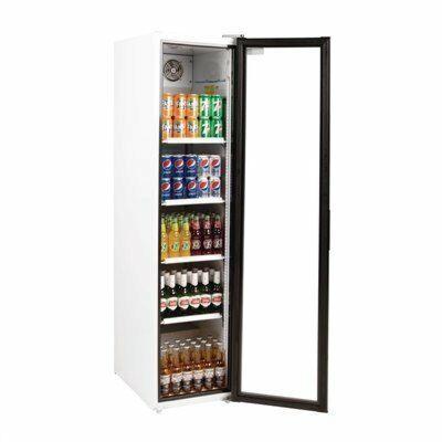POLAR Glastür Flaschenkühlschrank