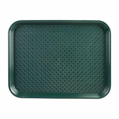 Kristallon Fast-Food-Tablett grün 34,5 x 26,5cm-Gastro-Germany
