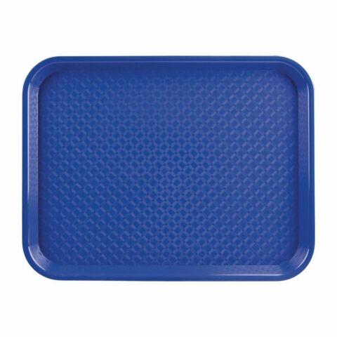 Kristallon Fast-Food-Tablett blau 34,5 x 26,5cm-Gastro-Germany