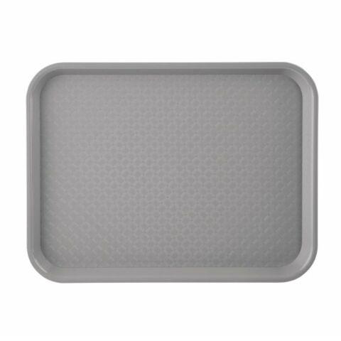 Kristallon Fast-Food-Tablett grau 34,5 x 26,5cm-Gastro-Germany