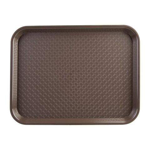 Kristallon Fast-Food-Tablett braun 34,5 x 26,5cm-Gastro-Germany