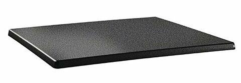 Topalit Tischplatte Classic Line eckig Anthrazit 120x80 cm-Gastro-Germany