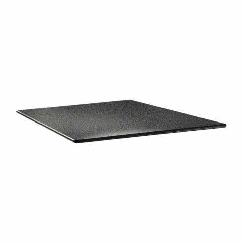 Topalit Tischplatte Smartline eckig anthrazit 80x80 cm