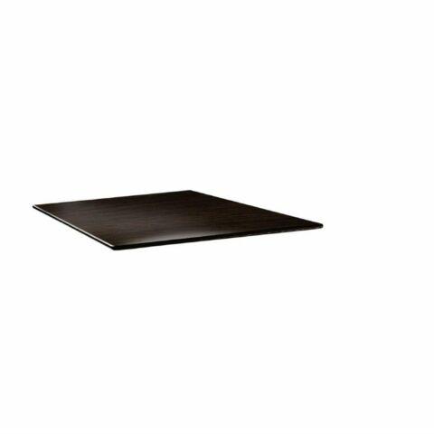 Topalit Tischplatte Smartline eckig Wenge 70x70 cm