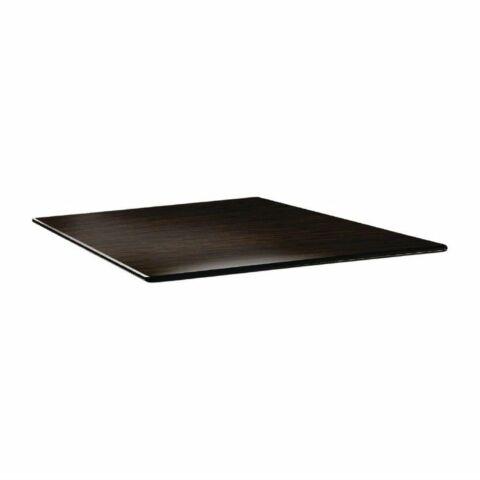 Topalit Tischplatte Smartline eckig Wenge 80x80 cm