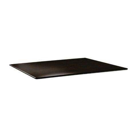 Topalit Tischplatte Smartline Wenge 120 x 80cm