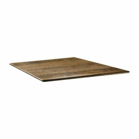 Topalit Tischplatte Smartline eckig Atacama Kirschenholz 80x80 cm
