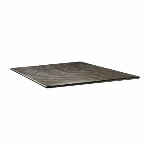 Topalit Tischplatte Smartline eckig Holz Optik 80x80 cm