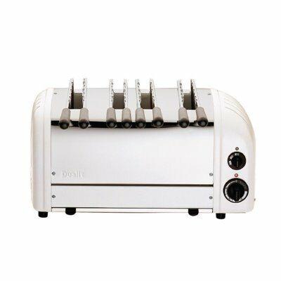 Dualit Sandwichtoaster 41034 weiß, 4 Scheiben Toaster-Gastro-Germany