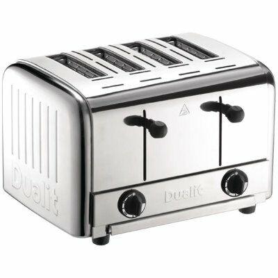 Dualit Toaster 49900 Edelstahl, 4 Scheiben Toaster-Gastro-Germany