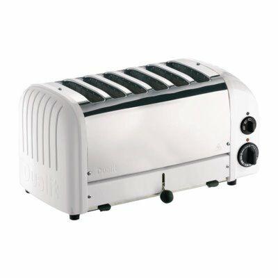 Dualit Toaster 60146 weiß, 6 Scheiben Toaster-Gastro-Germany