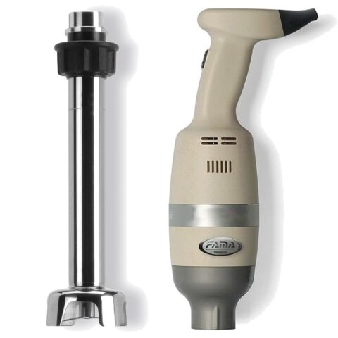 FAMA Heavy Duty Stabmixer-Set, fester Geschwindigkeit 400W, Mixstab 30 cm