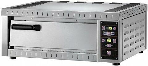 Elektro Pizzaofen B1E, 1 Backkammer,230 V, für 1 Pizza-Gastro-Germany