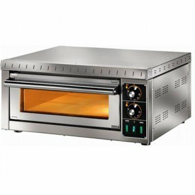 Elektro Pizzaofen MD1, 1 Backkammer,230 V, für 1 Pizza-Gastro-Germany