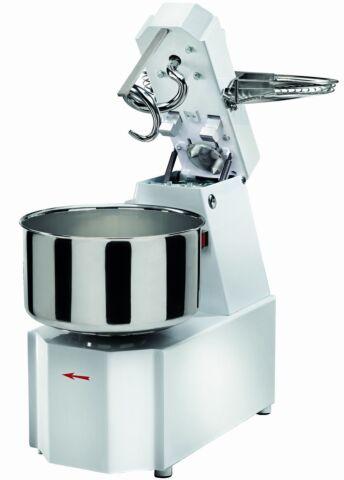 GAM Teigknetmaschine TS 16, 230 V, 16 Liter, 13 kg, Rührwerk aufklappbar-Gastro-Germany
