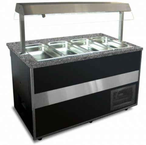 IGLOO Bainmarie Buffetwagen Gastroline Open Bemar 1.5, Länge 1500 mm-Gastro-Germany