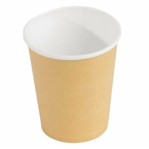 Fiesta Coffee To Go Becher 230ml hellbraun, 1000 Stück