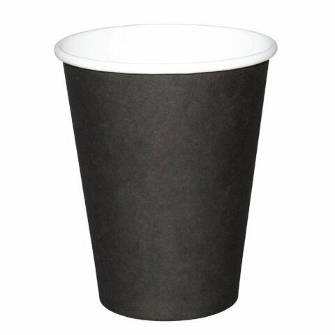 Fiesta Coffee To Go Becher 340 ml schwarz 1000 Stück-Gastro-Germany