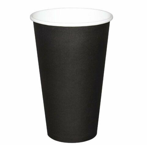 Fiesta Coffee To Go Becher 455 ml schwarz 50 Stück