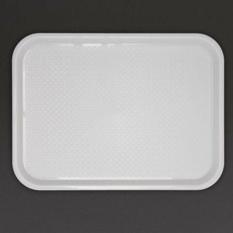 Kristallon Fast Food-Tablett weiß 34,5 x 26,5cm-Gastro-Germany
