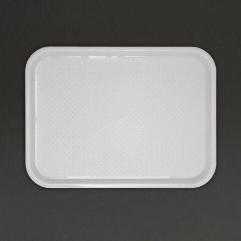 Kristallon Fast Food-Tablett weiß 41,5 x 30,5cm-Gastro-Germany