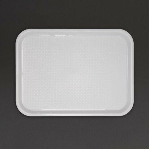 Kristallon Fast Food-Tablett weiß 45 x 35cm-Gastro-Germany