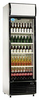 Flaschenkühler, 430 Liter Umluftkühlung, 620x690x2073mm-Gastro-Germany