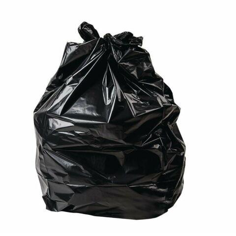 Jantex schwerbelastbare Müllbeutel schwarz 80L, 200 Stück-Gastro-Germany