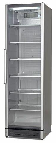 Glastürkühlschrank M 210, mit Umluftkühlung und Glastür im Alu-Rahmen, einbaufähig-Gastro-Germany