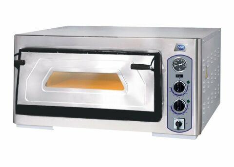 Profi-Line Elektro Pizzaofen 1 Backkammer für 6 Pizzen, 400 V-Gastro-Germany